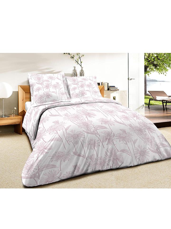 myhome parure de lit en coton pquerette rose poudr - Parure De Lit Rose Poudre