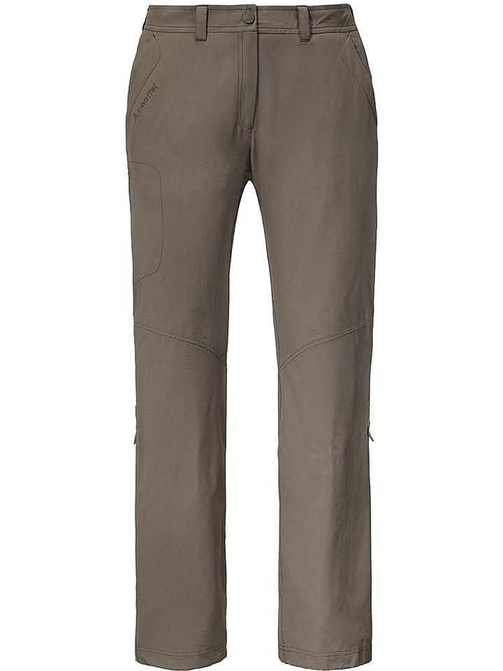 """Schöffel Spodnie funkcyjne """"Kataba Nos"""" w kolorze brązowym"""