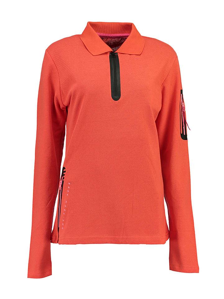 "Geographical Norway Poloshirt ""Kashionista"" koraalrood"