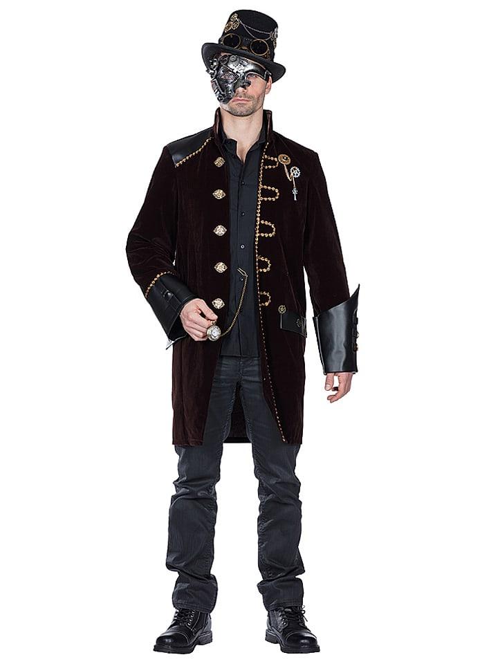 """Rubie`s Płaszcz """"Steampunk"""" w kolorze czarnym"""