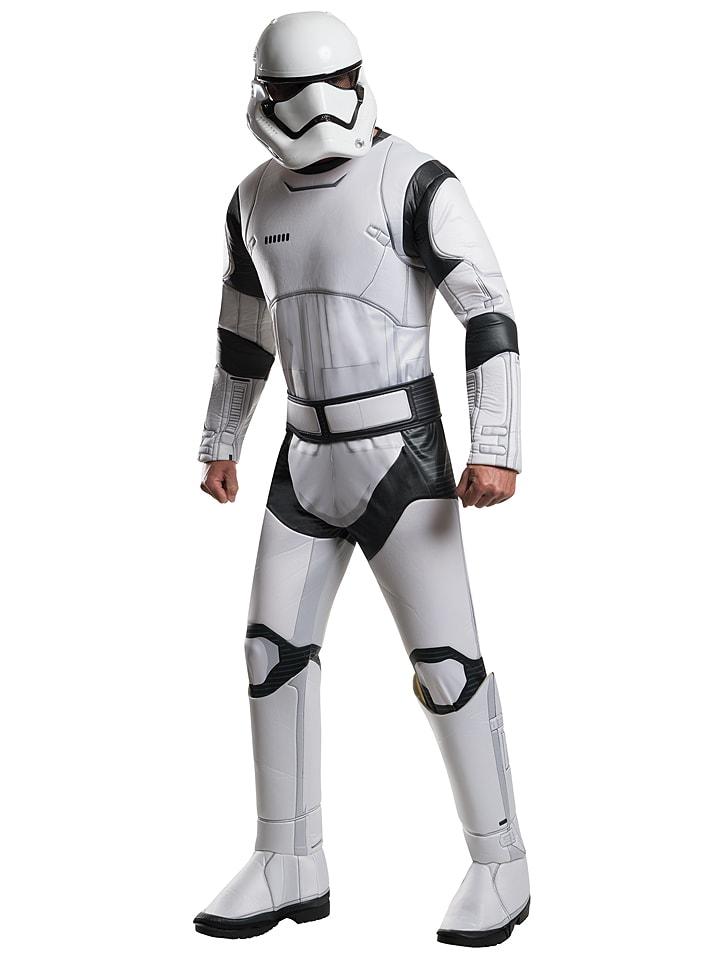 """Rubie`s 3-częściowy kostium """"Stormtrooper Deluxe"""" w kolorze czarno-białym"""