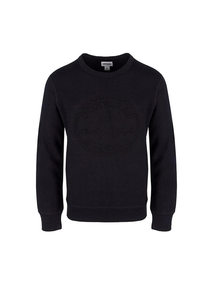 Converse Bluza w kolorze czarnym