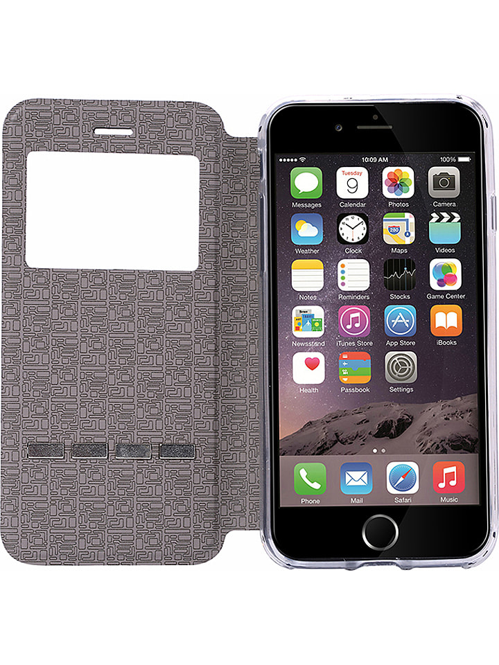 WHIPEARL Smarttouch Flip Case w kolorze czarnym do iPhone 7/8