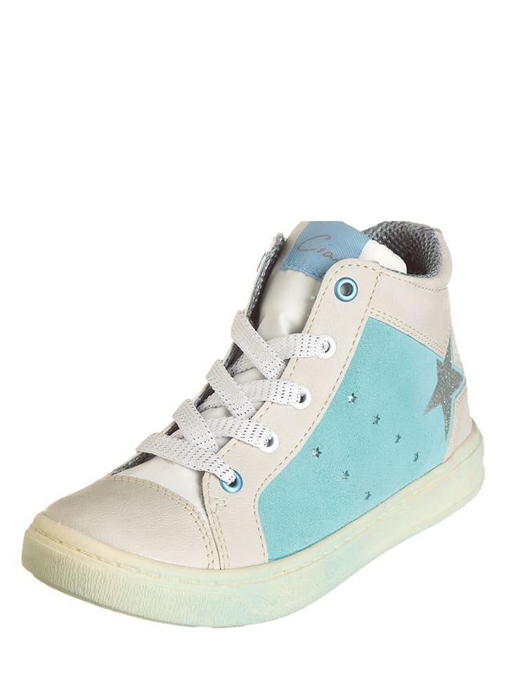 Ciao Sneakersy w kolorze błękitno-beżowym
