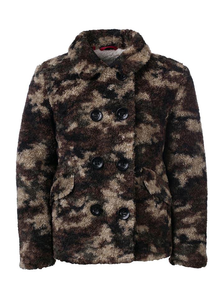 Looxs Revolution Kurtka zimowa w kolorze brązowym