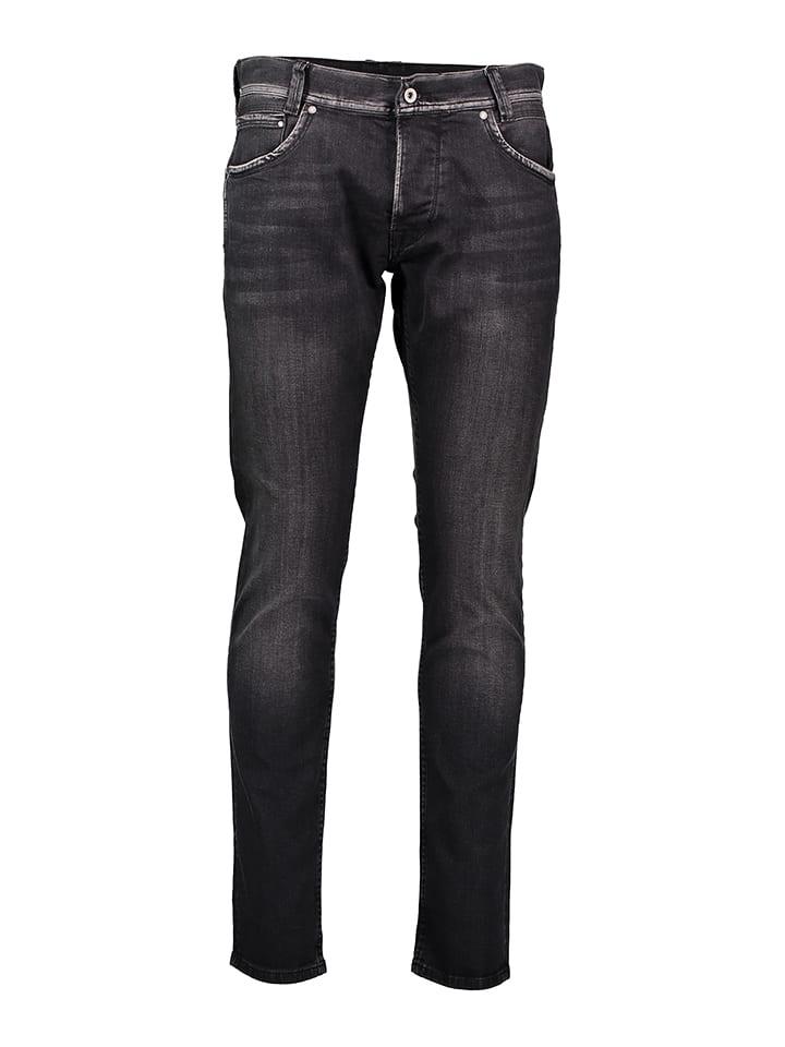 "Pepe Jeans Dżinsy ""Spike"" - Regular fit - w kolorze antracytowym"