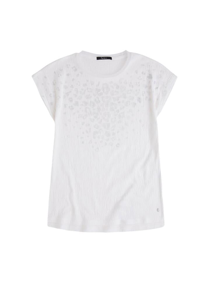 Pepe Jeans T-shirt w kolorze białym