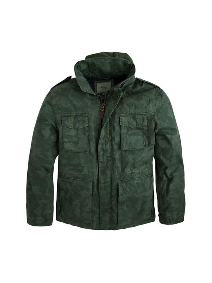 Pepe Jeans Kurtka w kolorze zielonym