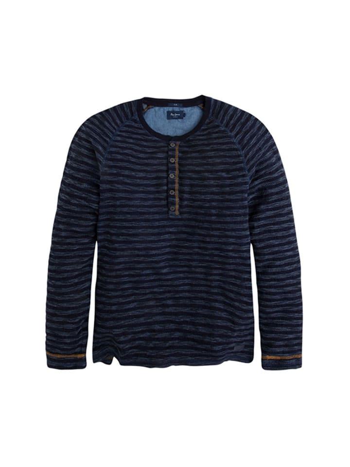 Pepe Jeans Bluzka w kolorze granatowym