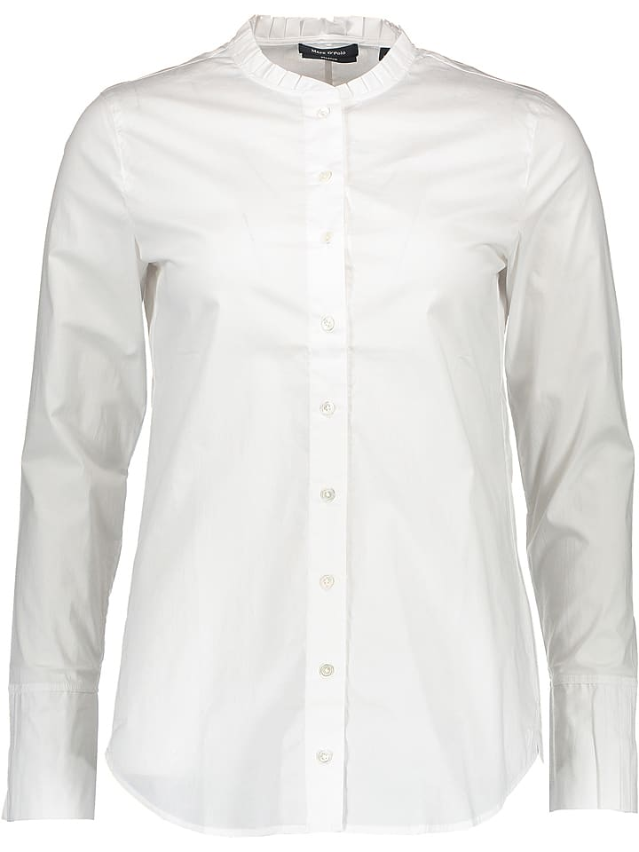 99feaf60ecbf37 Marc O'Polo - Bluse in Weiß | limango Outlet