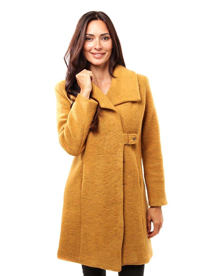 Winter Time Mantel geel