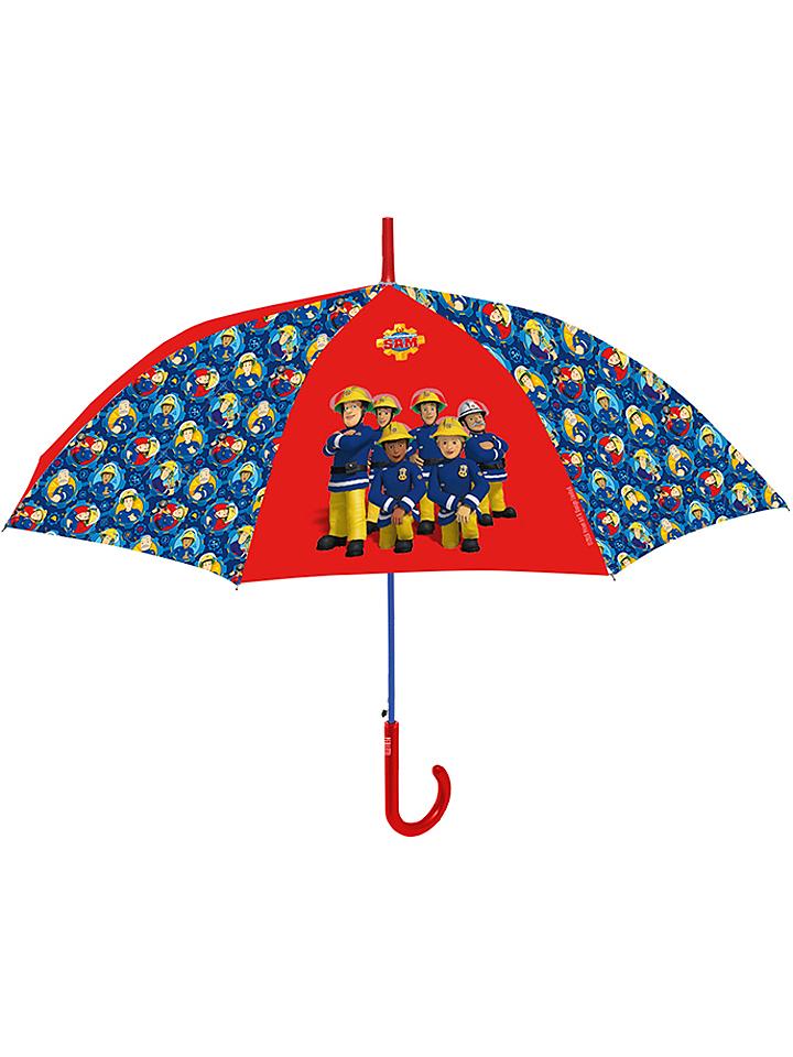 P:os Parasol w kolorze czerwono-niebieskim - dł. 42 cm