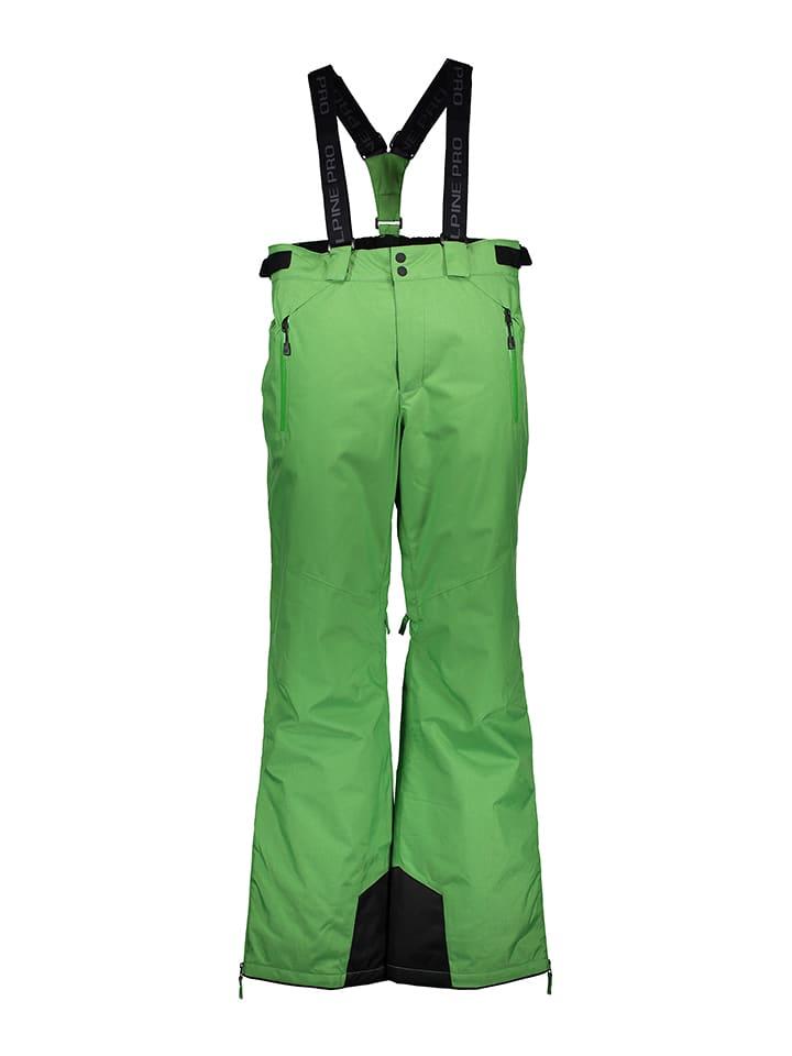 "Alpine Pro Pantalon de ski/snowboard ""Molini 2"" - vert"