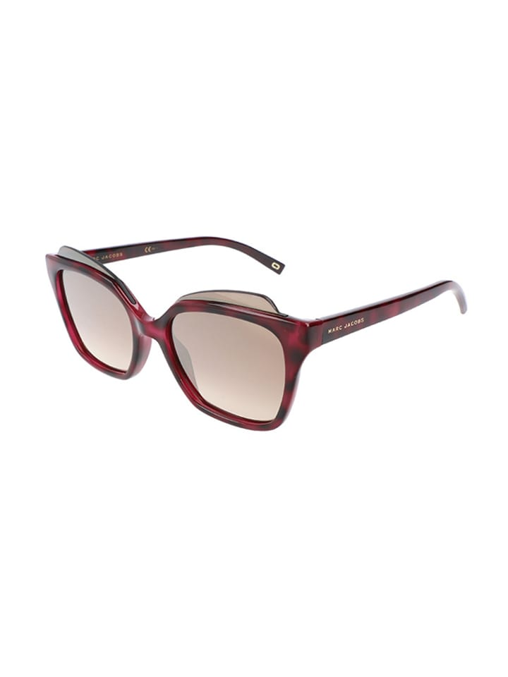 Marc Jacobs - Damen-Sonnenbrille in Dunkelrot | limango Outlet