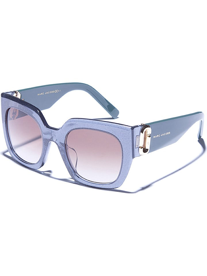 Marc Jacobs - Damen-Sonnenbrille in Petrol/ Braun | limango Outlet