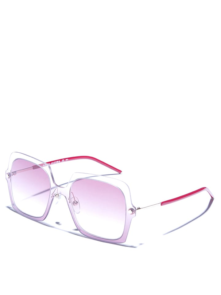 Marc Jacobs - Damen-Sonnenbrille in Transparent/ Dunkelrot | limango ...