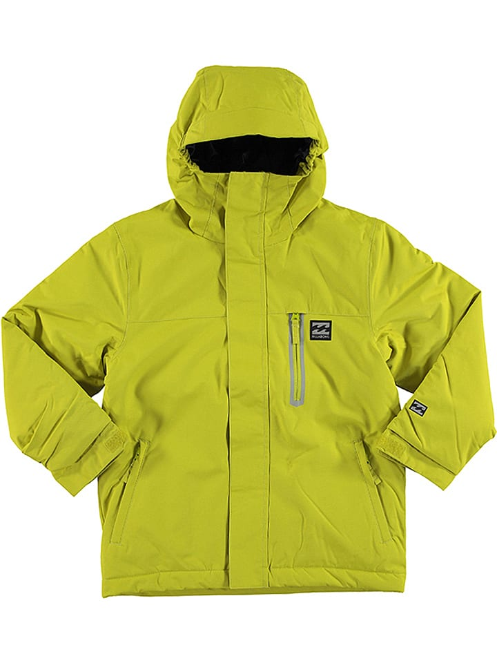 "Billabong Ski-/ Snowboardjacke ""Teen All Day"" in Gelb"