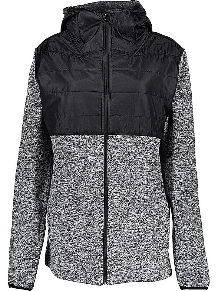 "Billabong Fleecejacke ""Transition"" in Schwarz/ Weiß"