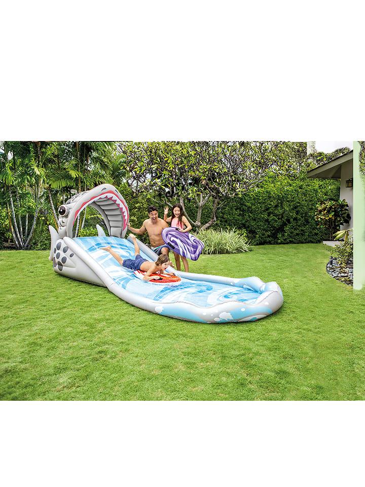 Intex Wasserrutsche ´´Surf ´n Slide´´ mit Zubehör - ab 6 Jahren - 45%   Gartenspielzeug