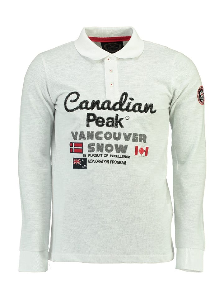 "Canadian Peak Polo ""Kunio"" - blanc"