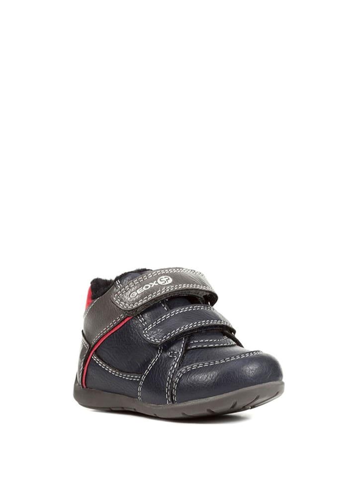 Geox Sneakersy w kolorze granatowo-szarym