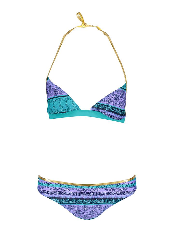 Lilou Secret Bikini w kolorze morsko-fioletowym