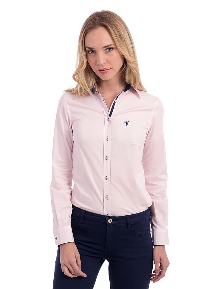 Polo Club Bluzka w kolorze jasnoróżowym