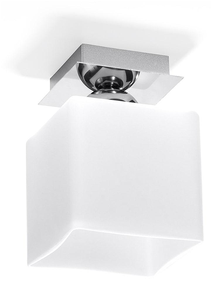 """Nice Lamps Lampa sufitowa """"Square"""" - EEK A++ (A++ do E) - 12 x 12 cm"""