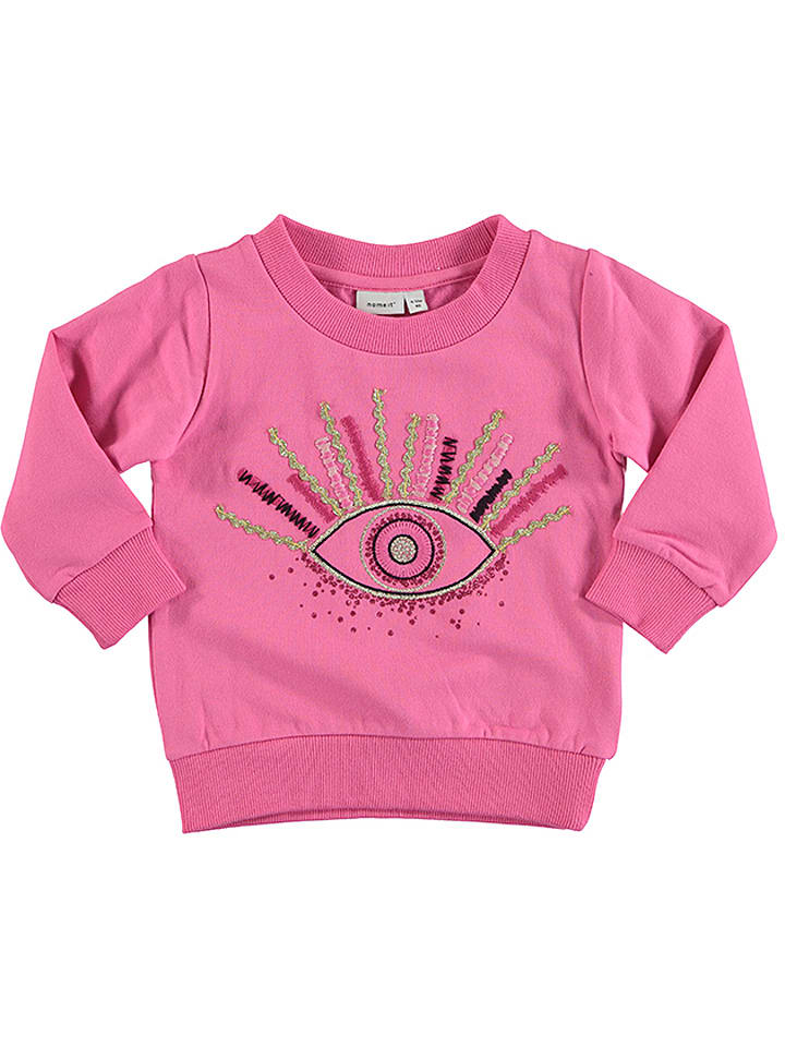 """Name it Bluza """"Selma"""" w kolorze różowym"""