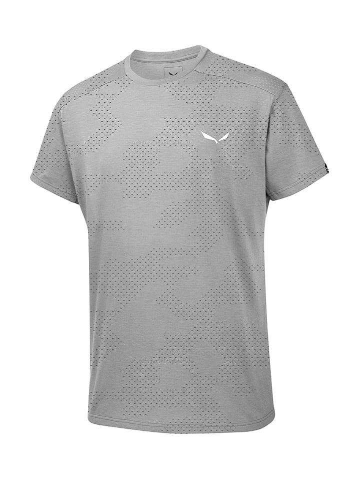 Salewa Shirt ´´Puez Hybrid Dry´´ in Grau - 62% | Größe S | Herrenshirts