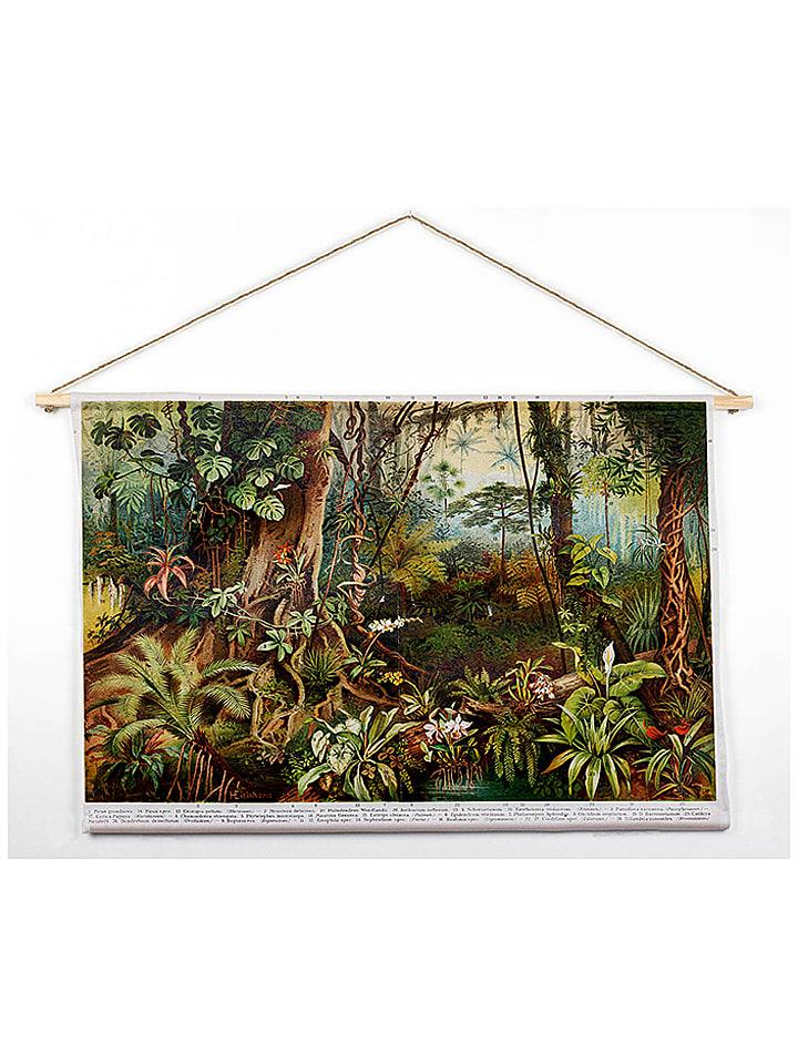 """Madre Selva Wandtapijt """"Deep Forest"""" - (B)90 x (H)60 cm"""