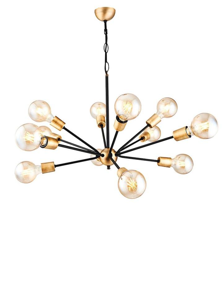 Dom z pomysłem Lampa wisząca w kolorze czarno-złotym - KEE A++ (A++ do E) - Ø 95 cm
