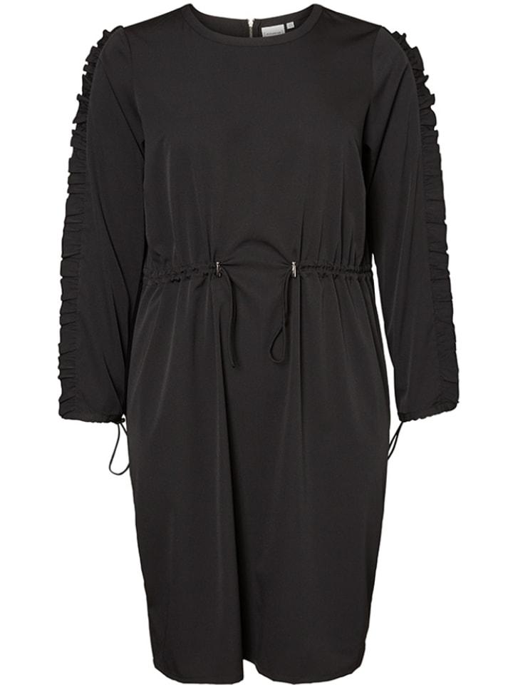 """JUNAROSE Sukienka """"Engel"""" w kolorze czarnym"""