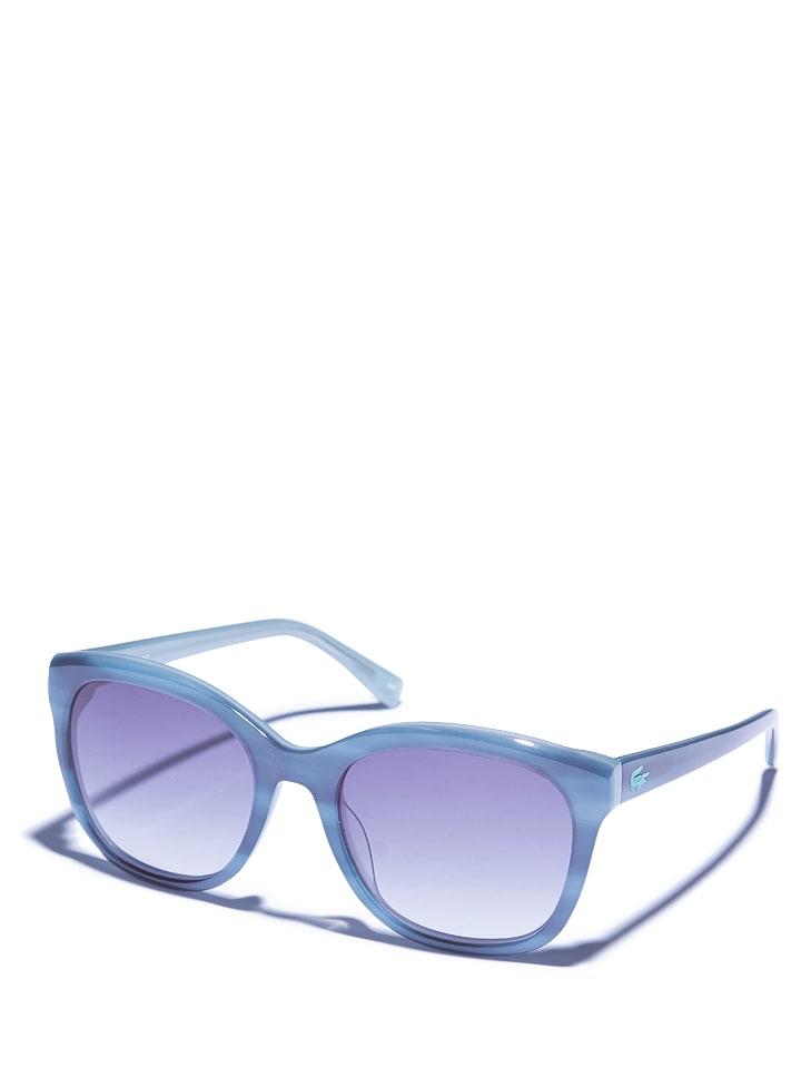 Lacoste Damen-Sonnenbrille in Petrol/ Schwarz