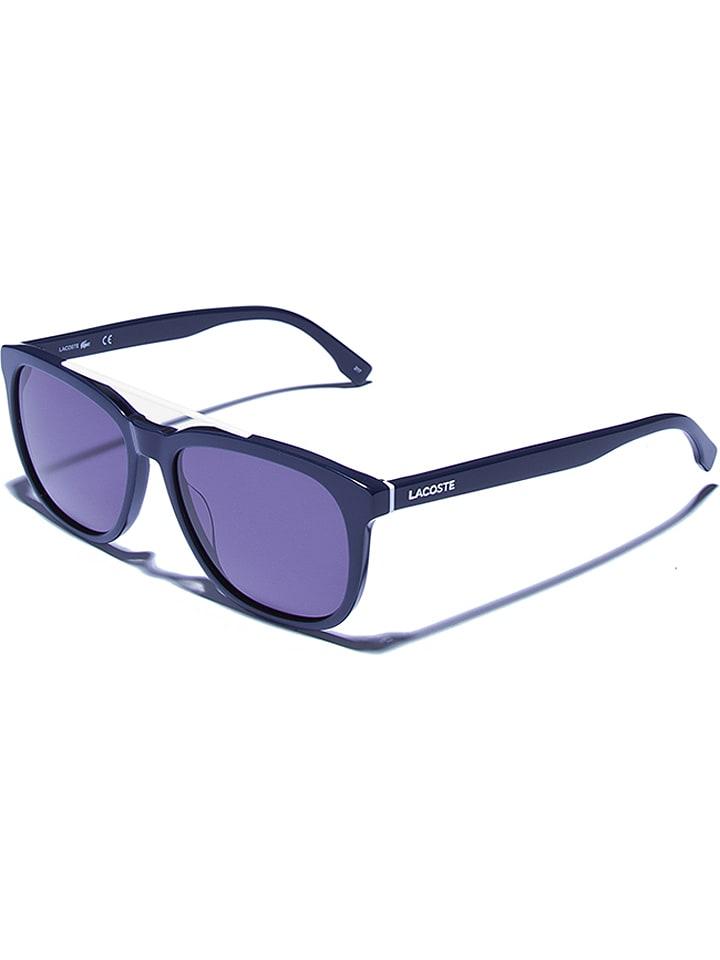 Lacoste - Damen-Sonnenbrille in Dunkelblau/ Blau | limango Outlet