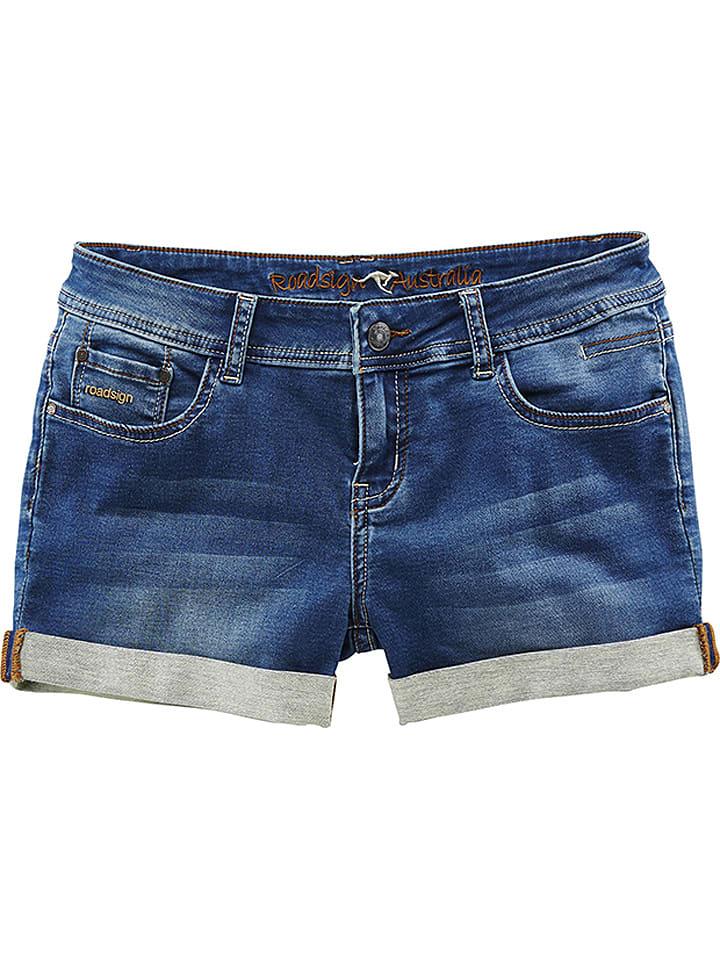 Roadsign Jeansshorts in Blau