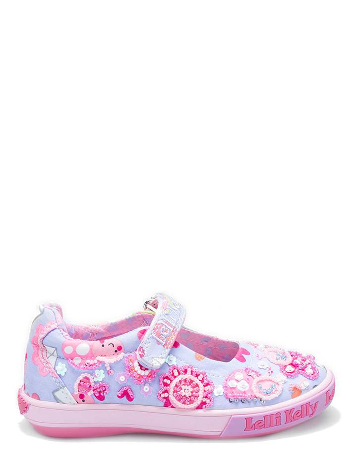 Lelli Kelly Baleriny w kolorze błękitno-różowym