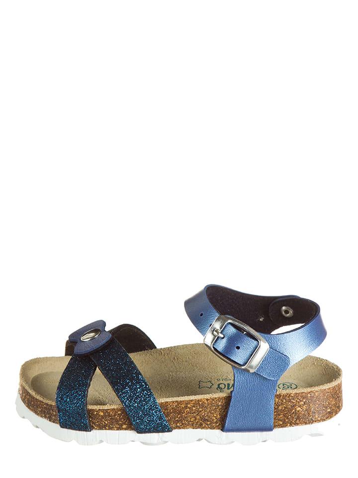 Lamino Sandały w kolorze niebieskim