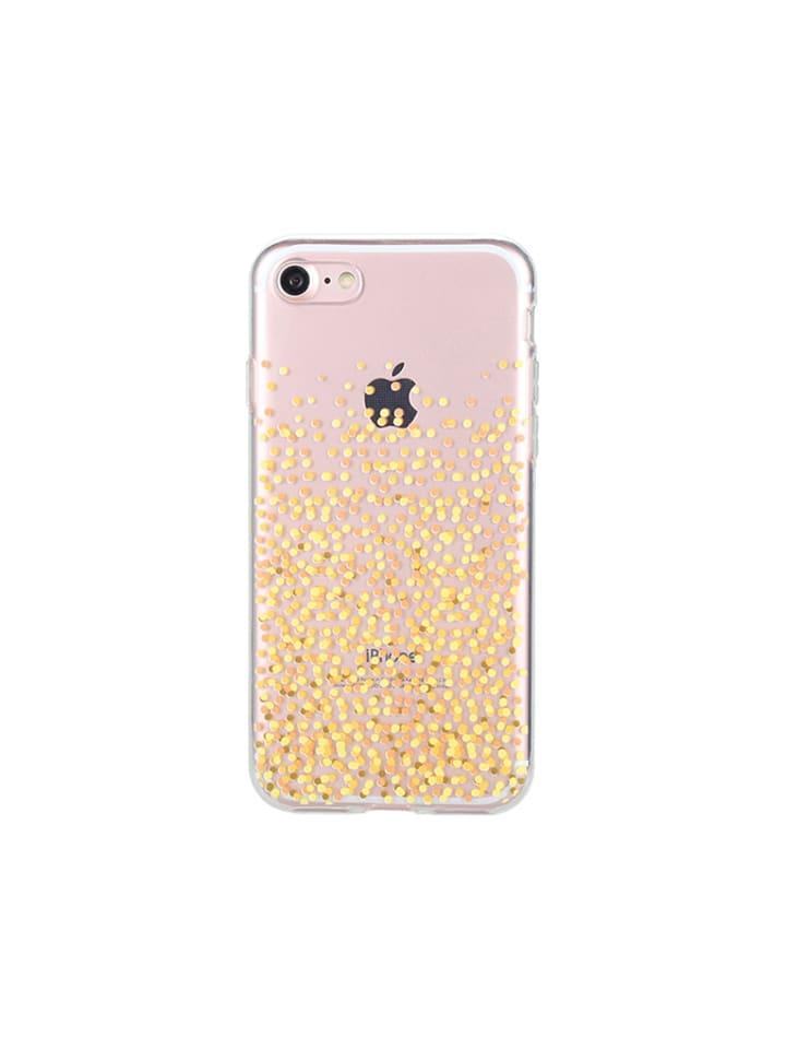 Slim Pearl Etui w kolorze transparentno-złotym - iPhone 7, 8