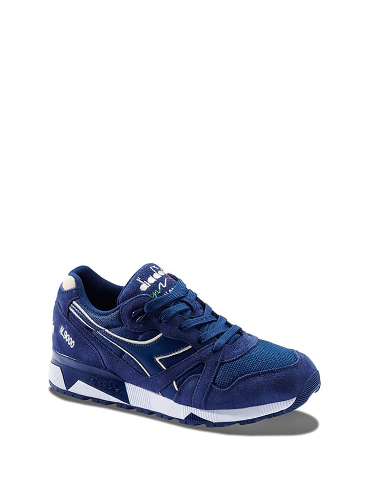 Diadora Sneakersy w kolorze niebieskim