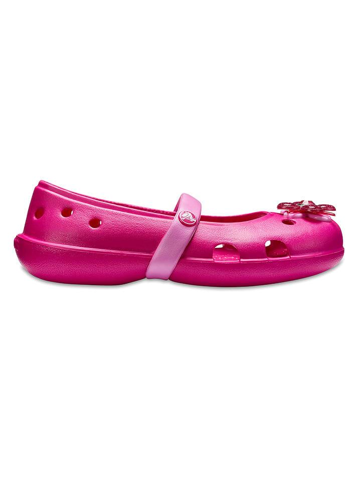 "Crocs Ballerinas ""Keely Springtime Flat"" in Pink"
