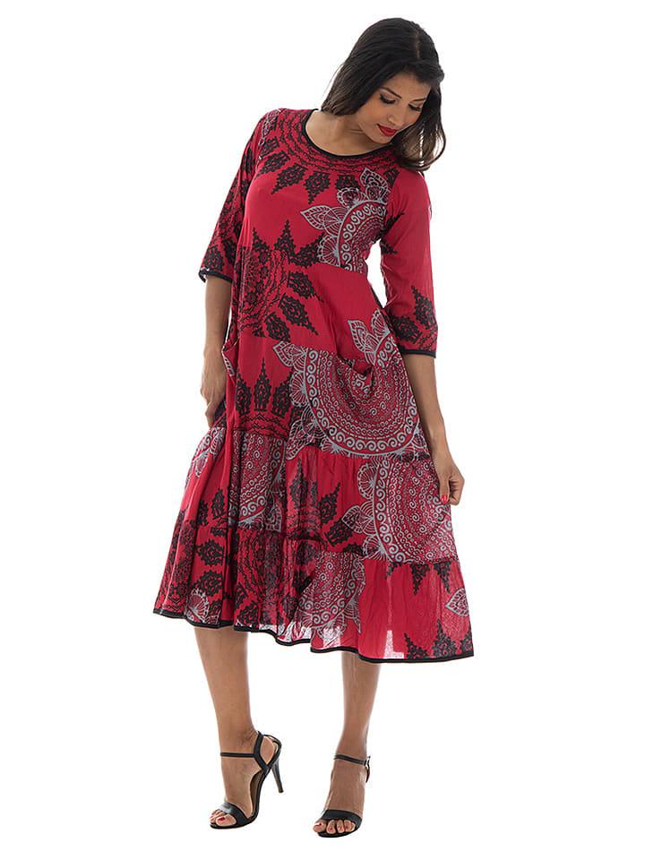 separation shoes cea2e 56ff0 Aller Simplement - Kleid in Rot/ Schwarz/ Weiß | limango Outlet
