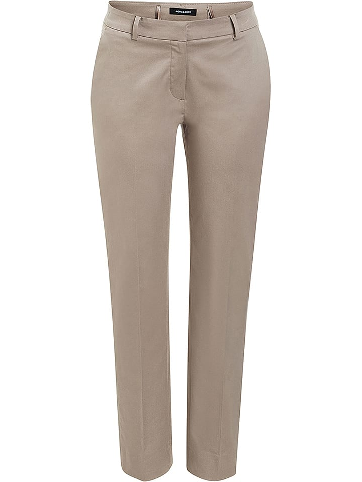 "More & More Chino ""Hedy"" in Beige"