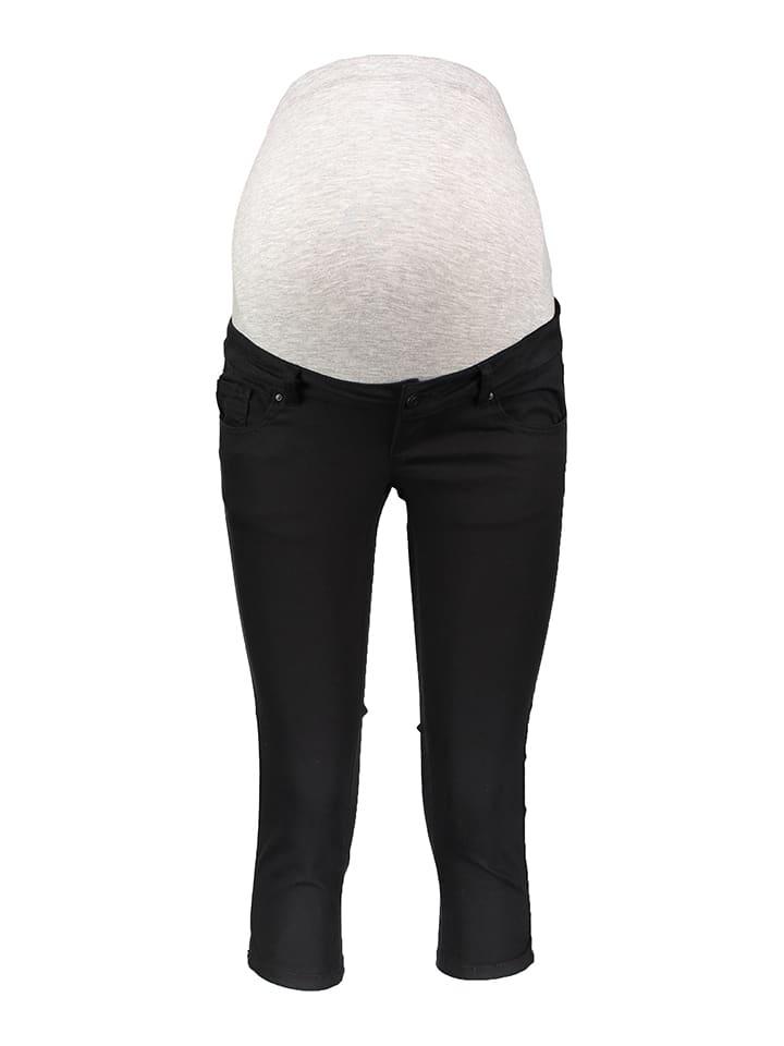 Mama licious Zwangerschapsbroek - slim fit - zwart