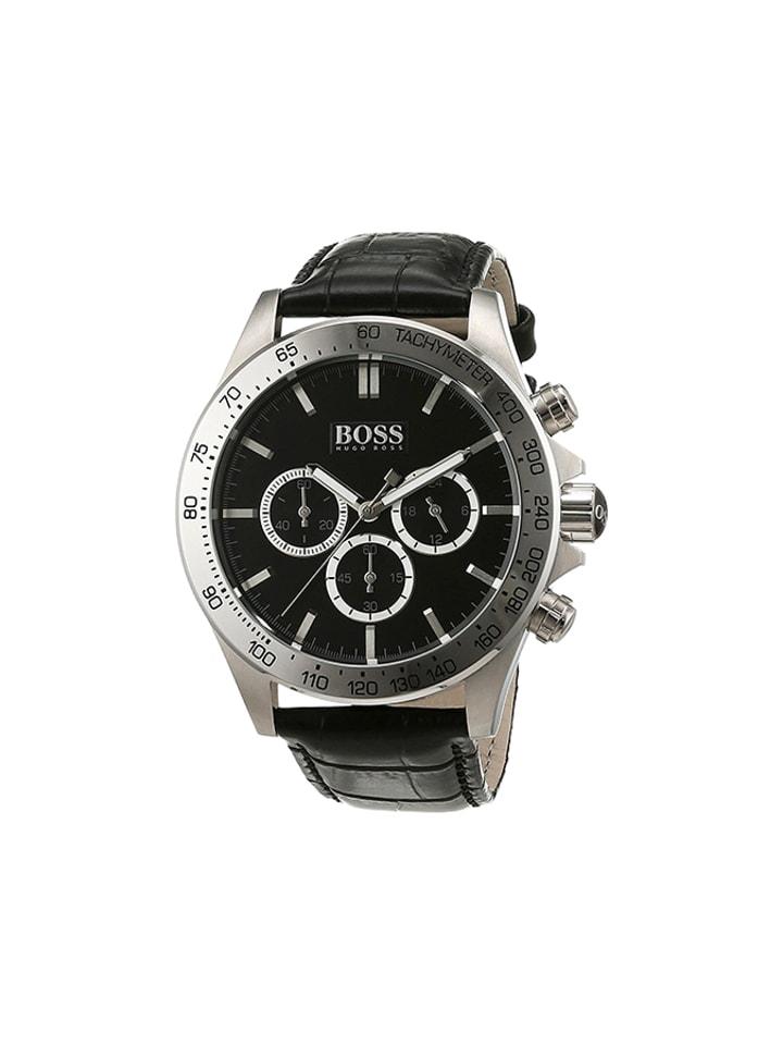 "Hugo Boss Zegarek ""1513178"" w kolorze czarnym"