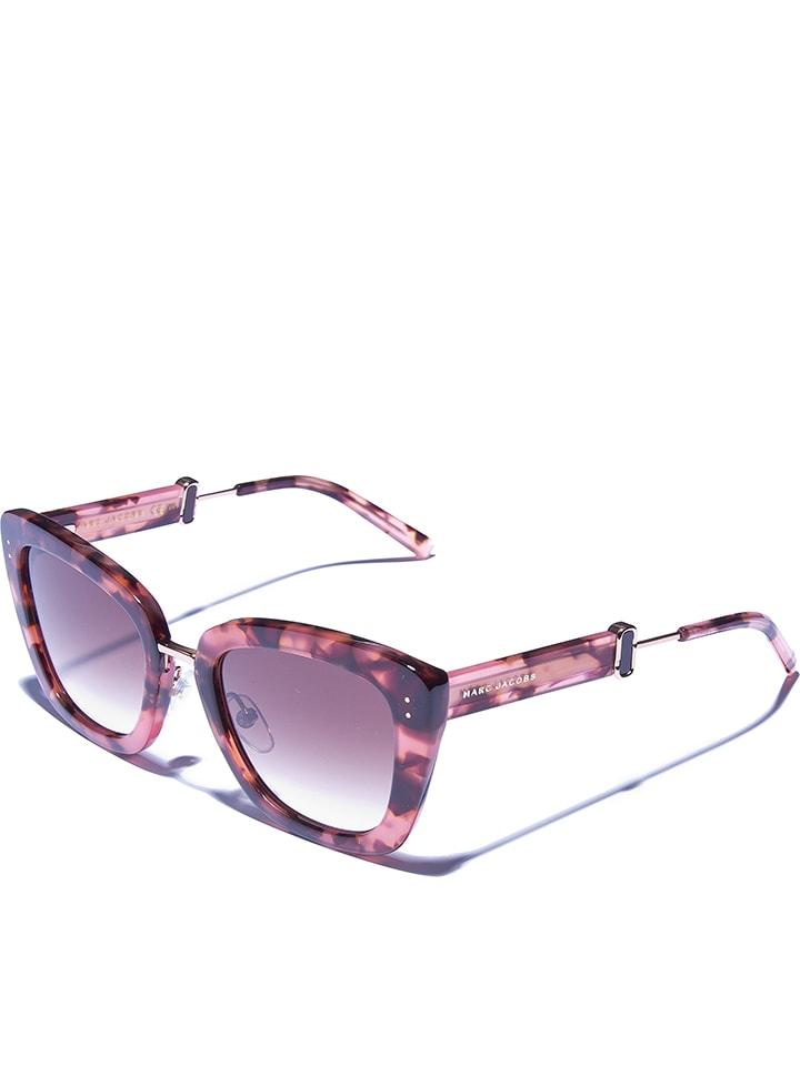 664b9a89599b8 Marc Jacobs - Lunettes de soleil - femme - rose marron
