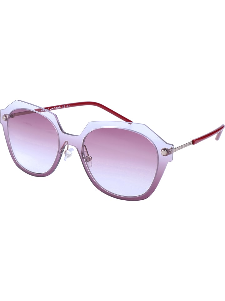Marc Jacobs - Damen-Sonnenbrille in Transparent/ Rosa | limango Outlet