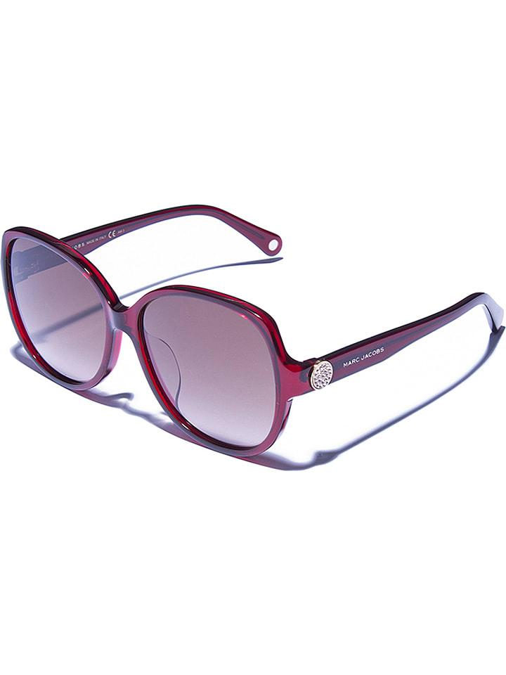 Marc Jacobs - Damen-Sonnenbrille in Bordeaux/ Braun | limango Outlet