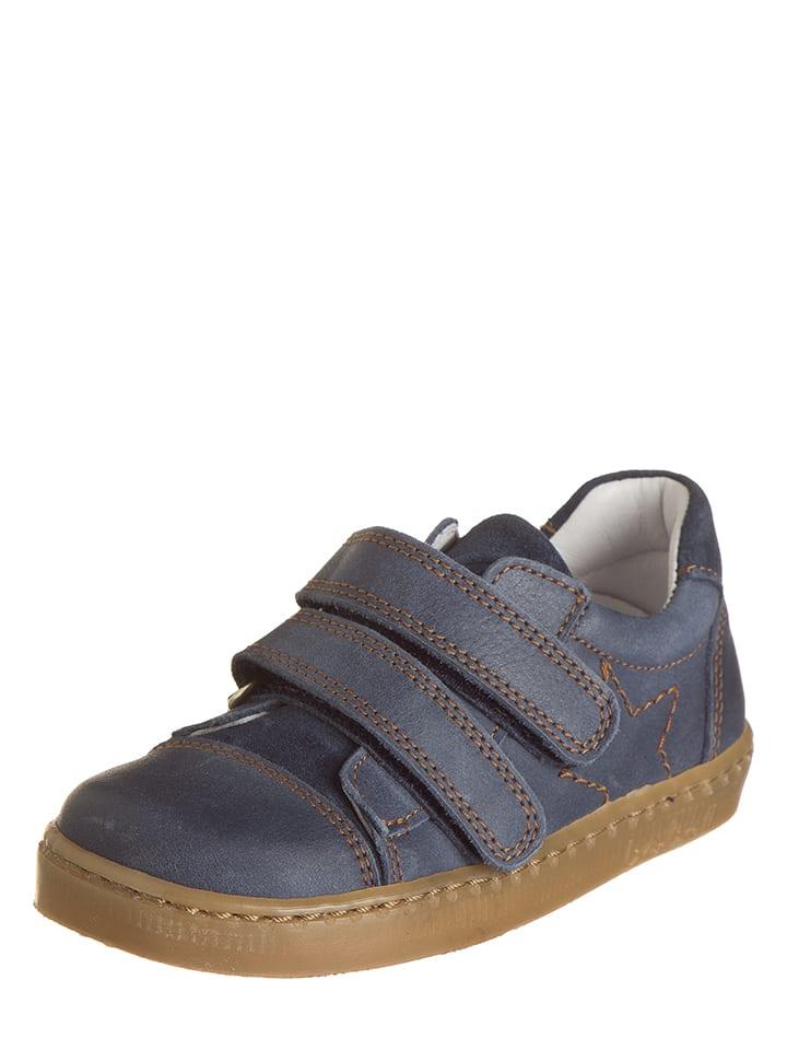 BO-BELL Leder-Sneakers in Dunkelblau