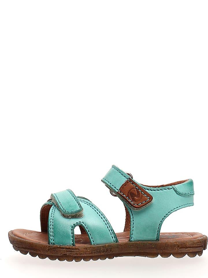 b5edc242a Naturino - Sandales en cuir - turquoise | Outlet limango